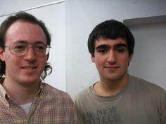 Nazareno (Izq.) junto a Federico Perez Ponsa