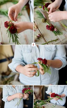 Did you love the winter flower crown from the cozy winter inspiration we shared earlier today? I know I did and I asked Recycled Love Storyif she could share how she made it. For you lovely winter brides who love the look of a flower crown, this is perfect for your winter wedding. :) Thanks […]