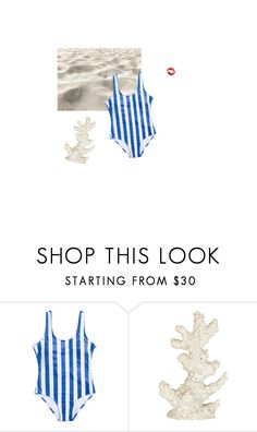 """""""Day at the beach"""" by lsaroskyl ❤ liked on Polyvore featuring Pomeroy"""
