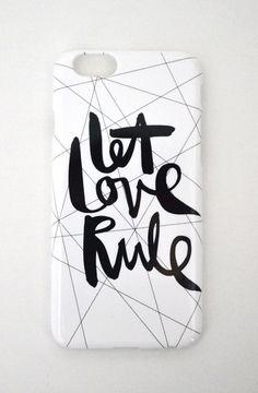 "Handyhülle ""let love rule"""