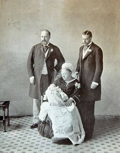 Four Generations, 1896. Queen Victoria, the Prince of Wales (future Edward VII), the Duke of York (future George V), and Prince Edward Albert of York (future Edward VIII, later Duke of Windsor) in 1896--the year of Edward VIII's birth--and 1901.