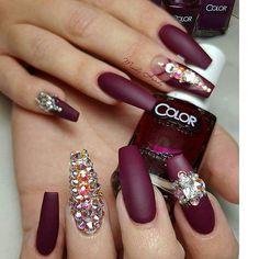 Imagem de art, nails, and color