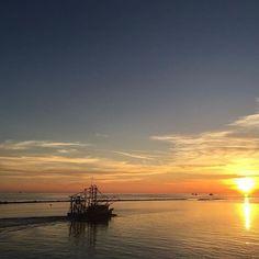 Shrimp boats off of