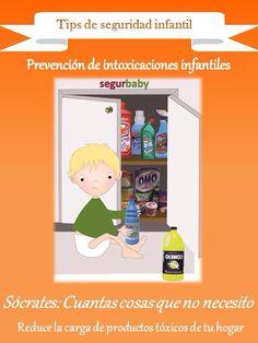 Prevención de intoxicaciones infantiles: reducir la carga de tóxicos