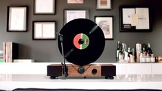 Back Now on Kickstarter. https://www.kickstarter.com/projects/gramovox/floating-recordtm-vertical-turntable