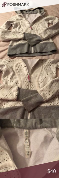 Lulumelon Hoodie 2 polka dots See pics for condition lulumelon Other