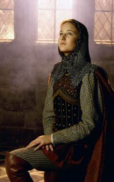 LeeLee in the 1999 CBS movie about St Jehanne. An excellent and historically accurate portrayal of Joan of Arcs life