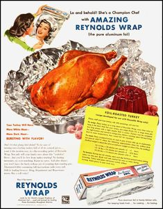 Vintage Ads with Recipes---Thanksgiving