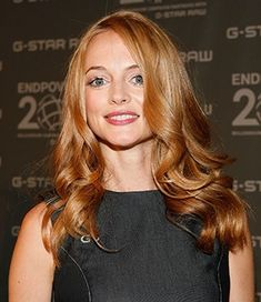 I'm only pinning this because its Heather Graham. She doesn't even look that good here. Her hair is pretty though.