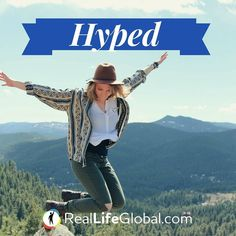 SLANG: What are you HYPED for?  very excited  I'm so hyped to go camping this weekend!!