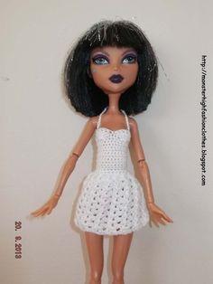 Ropa para muñecos - Ropa Monster High: v75 - hecho a mano por mamimonster en DaWanda.  http://monsterhighfashionclothes.blogspot.com http://mymonsterhighboutique.dawanda.com