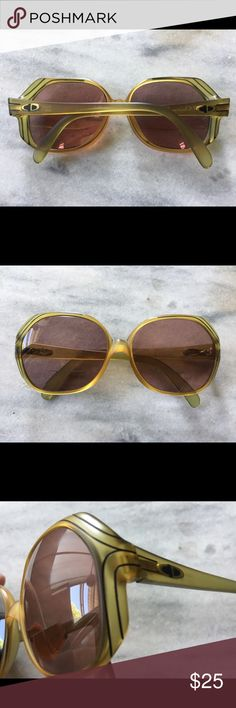 692ad19982c7 1980 s Christian Dior sunglasses 1980 s CD prescription sunglasses. These  glasses have very thick lenses that