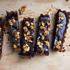 You don't have to use a vegan chocolate to make this decadent tart—any bittersweet baking bar will be great.