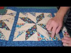 Sure, there are lots of different patterns we could use to make table runners but finding one as unique as this pattern just might be a tall order to fill! What is so great about this particular pattern is the use of the half square triangle. A shape many quilters are very familiar with therefore …