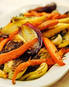Roasted Vegetables - Martha Stewart Recipes