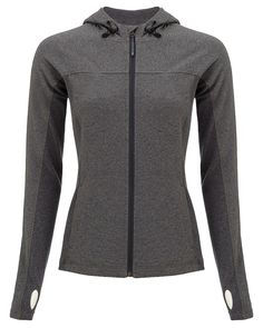 Shoreline Full Zip - PassionCoral | long sleeved tops | Sweaty Betty