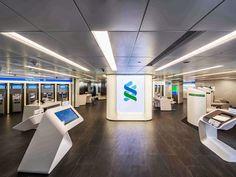 Standard Chartered Bank Des Voeux Rd Retail Branch | Aedas | Interior | Retail | Hong Kong, PRC