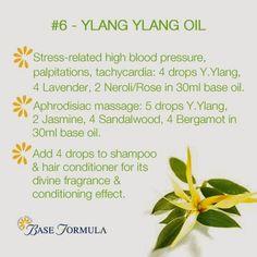 Ylang Ylang Essential Oil - #baseformula #ylangylang #essentialoils #aromatherapy #naturalhealth #holistic #massage #skincare