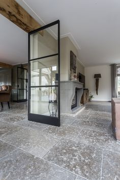 Flower Shop Interiors, Hallway Decorating, Küchen Design, Sweet Home, Farmhouse, Doors, Flooring, Living Room, Mirror