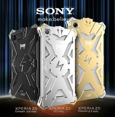 For <font><b>Sony</b></font> <font><b>Xperia</b></font> Z1 Z2 Z3 Z4 <font><b>Z5</b></font> <font><b>Premium</b></font> Compact Metal Phone Shell <font><b>Cases</b></font> <font><b>Simon</b></font> Brand <font><b>Thor</b></font> Series Aviation Aluminum Cover <font><b>Case</b></font> Price: PKR 1820.47215 | Pakistan