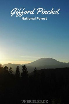 Gifford Pinchot National Forest will put the adventurer-spell on you.