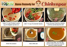 Soup home remedy for chickenpox