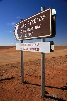 Lake Eyre National Parks, Lake Eyre, Australia