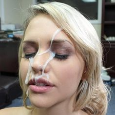 Hot chicks getting cummed all over their faces :)