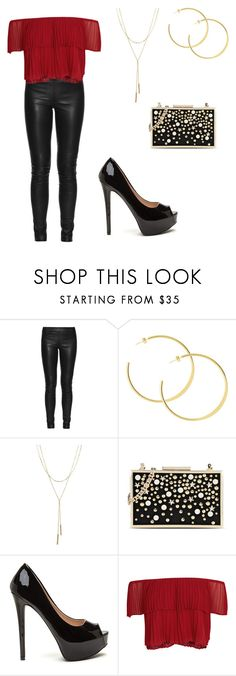 """""""Sans titre #965"""" by stalialightwood ❤ liked on Polyvore featuring The Row, Bloomingdale's, Karl Lagerfeld and Keepsake the Label"""