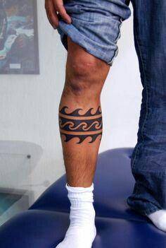 Tribal wave armband