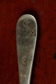18th century spoon by Paul Revere