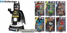 Win a LEGO Batman Desk Lamp and a DC Universe Labbit Mini-Figure Set from DCCollectors.com!