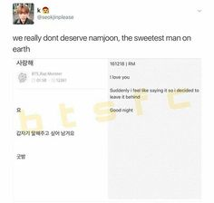 Namjoon must be protected in all cost