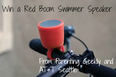 Give your Sweetheart a Boom this Valentine's Day! @ATT has 2 Boom speakers for $99. #Win a Boom Swimmer w/@ParentingGeekly #ATTSeattle http://parentinggeekly.blogspot.com/2015/02/RedSwimmer.html