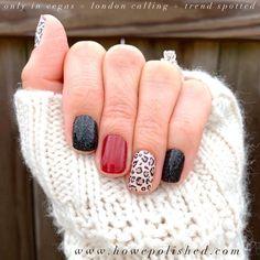 Nail Color Combos, Nail Colors, Cute Nails, Pretty Nails, Fancy Nails, Hair And Nails, My Nails, Dipped Nails, Color Street Nails