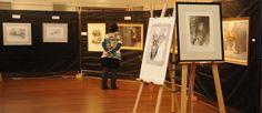 Exhibition set up - and launch of Australian Kelpie Art 2012 Exhibitions, Product Launch, Image, Art, Art Background, Kunst, Gcse Art