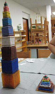 Towers:  Totals of Cubes & Squares