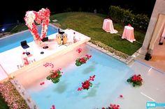 Lisa Vanderpump's Beverly Hills Pool
