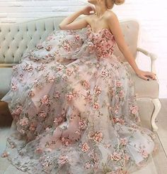 fairytale dress by designer Teuta Matoshi Duriqi <3