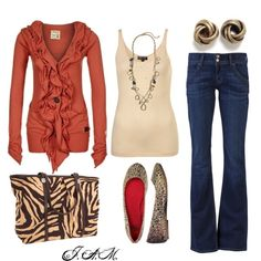 Wild thing, created by jayneann1809.polyvore.com