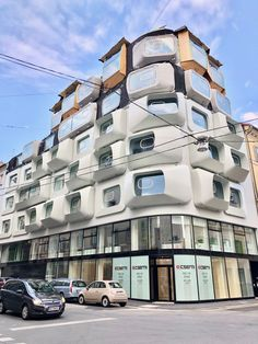 Zaha Hadid Argos building in Graz, Austria. Renaissance Architecture, Historical Architecture, Amazing Architecture, Contemporary Architecture, Graz Austria, Wooden Facade, Glass Facades, Zaha Hadid Architects, Commercial Architecture