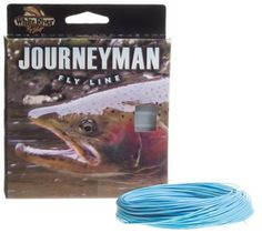 White River Fly Shop Journeyman Fly Line - Ice Blue - Line Weight 7