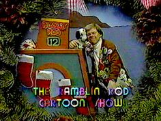 Oregon Folks... remember Ramblin Rod, on KPTV12? My brownie troop was on it once.
