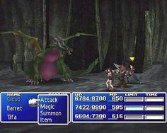 Final Fantasy VII - Playstation - 1997