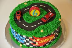 Hot Wheels Cake — Birthday Cake Photos