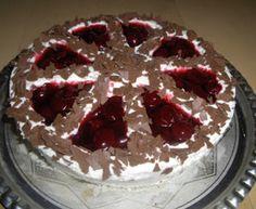 Stracciatellás-meggyes torta (Zila forma) Food And Drink, Pie, Recipes, Cakes, Food Cakes, Caramel, Torte, Cake, Cake Makers