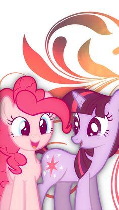 Pinkie pie & Twighlight