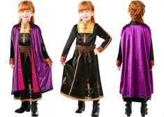 Costum rochie fetite Anna DELUXE Disney Frozen 2 - Marime S Anna, Disney Frozen 2, Satin, Costume, Corset, Dresses, Products, Fashion, Vestidos