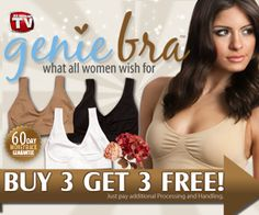 ▷ Genie Bra vs Ahh Bra ....I love the genie, and it has pockets, and comes with pads