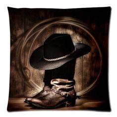Custom Brown Cowboy Boots Throw Pillow Case Cushion Cover... https://www.amazon.com/dp/B00T5XBOZ8/ref=cm_sw_r_pi_dp_x_QomWybV16QMKR